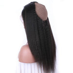 Bliss Kinky Straight 360 Lace Frontal Closure