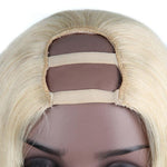 Brazilian Blonde Straight U-Part Wig