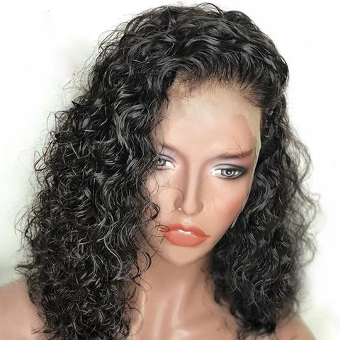 Short Curly Bob Brazilian Lace Front Wig