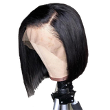 Bobbi Brazilian Bob Cut Lace Front Wig with Bleached Knots