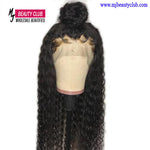 Brazilian Curly Deep Part Lace Wig