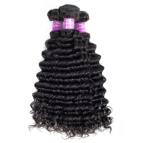 Cranberry Peruvian Deep Wave Extensions