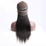 Diva Brazilian Straight 360 Lace Frontal Wig Pre-Plucked With Baby Hair
