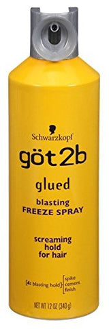GoT 2B Glued Blasting Freeze Spray, 12 Ounce (Pack of 2)