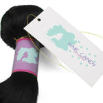 Customized Human Hair Bundles Tags and Wraps