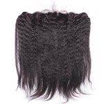 Brazilian Kinky Straight Lace Frontal 13x4