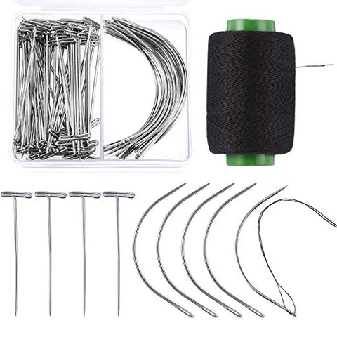 70 Piece Wig Making Pins and Needles Set
