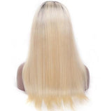 Peruvian Ombre Blonde Lace Front  Wig