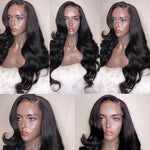 *NEW* Transparent 360 Body Wave Lace Frontal Wig