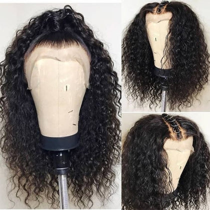 Deep Wave Brazilian Curl Lace Frontal Wig
