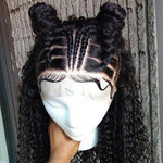 *NEW* Transparent Curly 360 Lace Frontal Wig