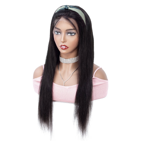 Peruvian Straight Lace Front Wig