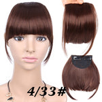 Synthetic Clip-in Bangs