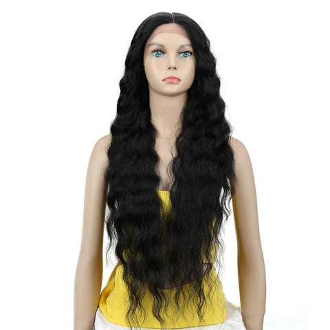 Natural Wave Synthetic Lace Front Wig