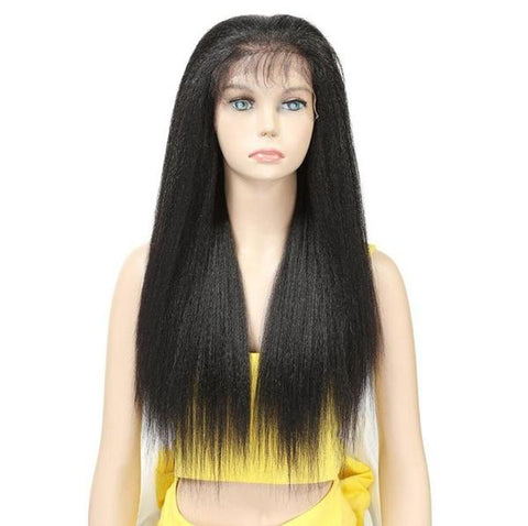Yaki Straight Synthetic Lace Wig