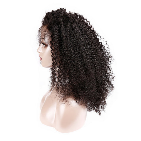 Brazilian Afro Kinky Curly Lace Front Wig