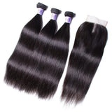 Virgin Brazilian Straight Bundles with Closure