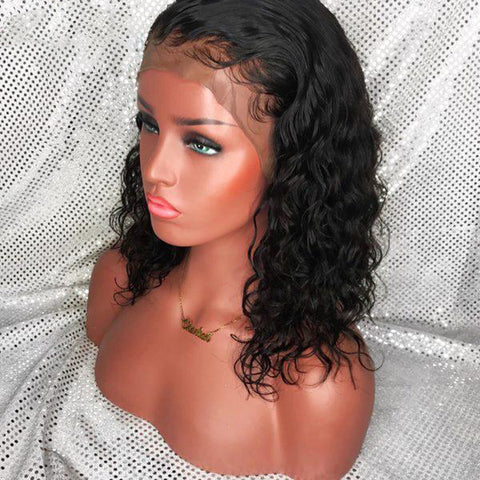 *NEW* Sunni Peruvian Short Curly Lace Front Wig