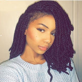 8 Inch Afro Spring Twist Ombre Braid Hair