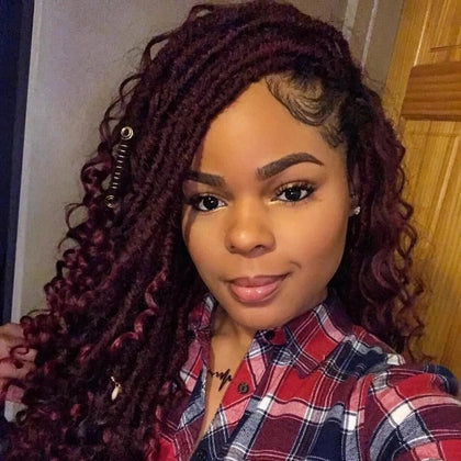 Goddess Faux Locs Crochet Hair