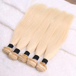 613 Blonde Brazilian Straight Hair Extensions