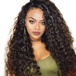 Foxy Brazilian Water Wave Lace Front Wig