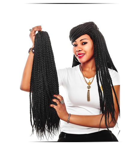 Small Box Braids Crochet Hair