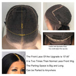 Brazilian Deep Part Bob Straight Lace Wig