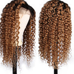 Caryn Brazilian Curly Ombre Lace Front Wig