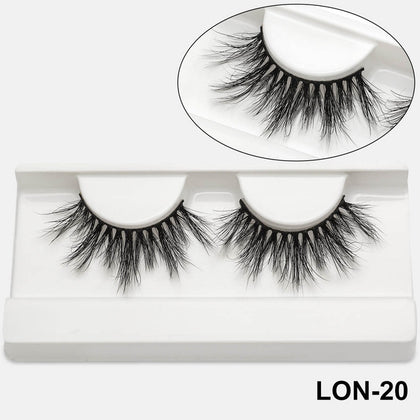 5D Mink Eyelashes 25mm100% Cruelty Free