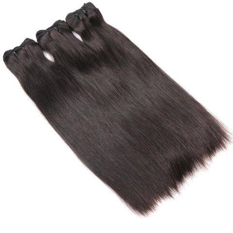 Raw Indian Virgin Silky Straight Bundles