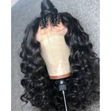 *NEW* 360 Transparent HD Loose Wave Lace Front Wig