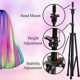 Mannequin Tripod Holder Adjustable Canvas with Carry Bag