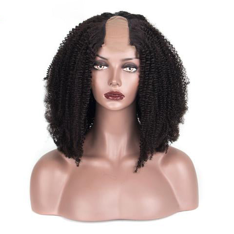 Mongolian Afro Kinky Curly U-Part Wig
