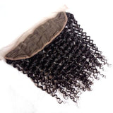 "Malaysian Curly Lace Frontal 13""x4"""