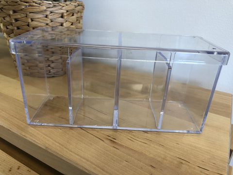 Clear acrylic case