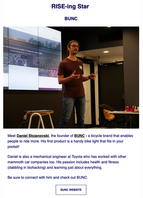 Featured in the RMIT Activator Newsletter!