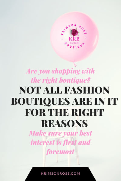 Why Krimson Rose Boutique? What makes us different?