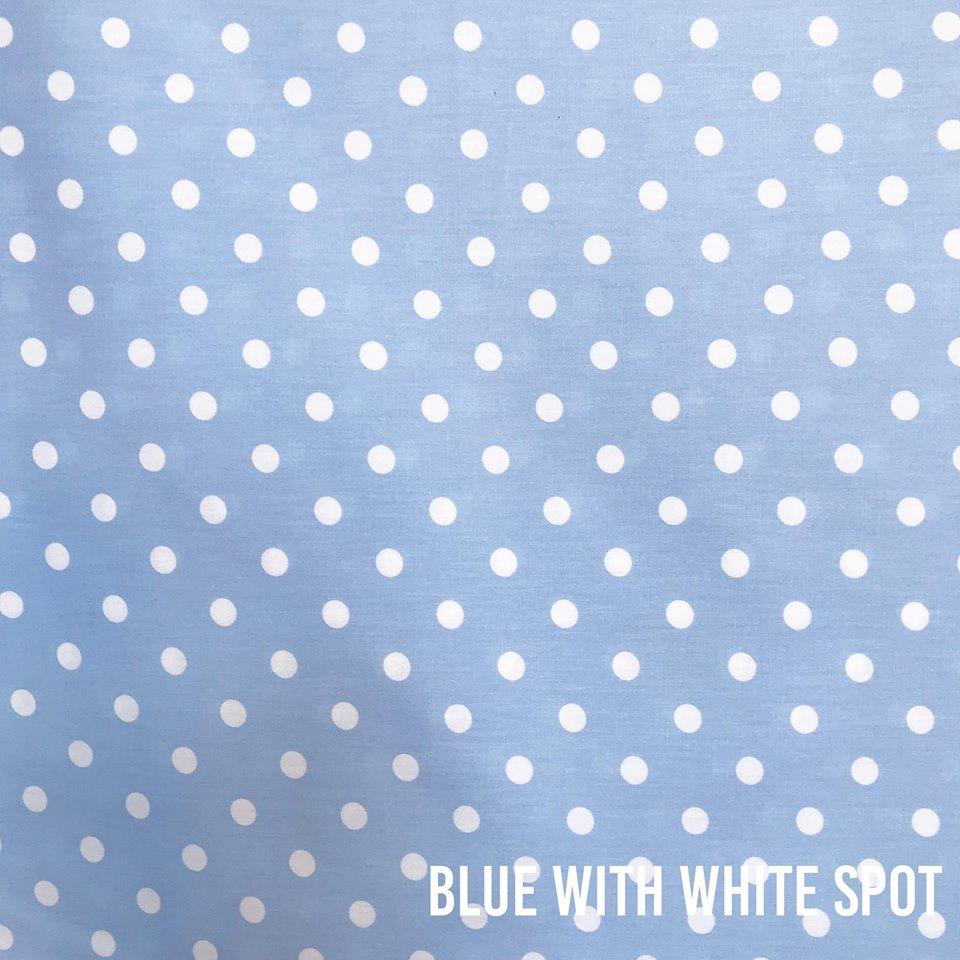 Blue With White Spot