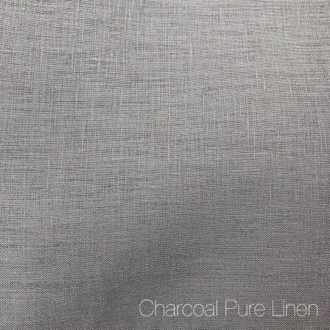Charcoal - Pure Linen