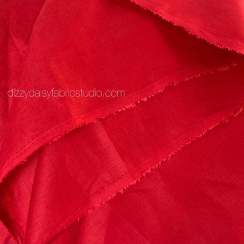 Christmas Red - Pure Linen