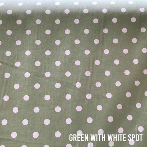 Green With White Spot