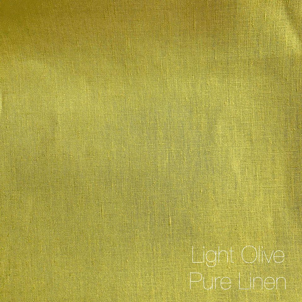Light Olive - Pure Linen