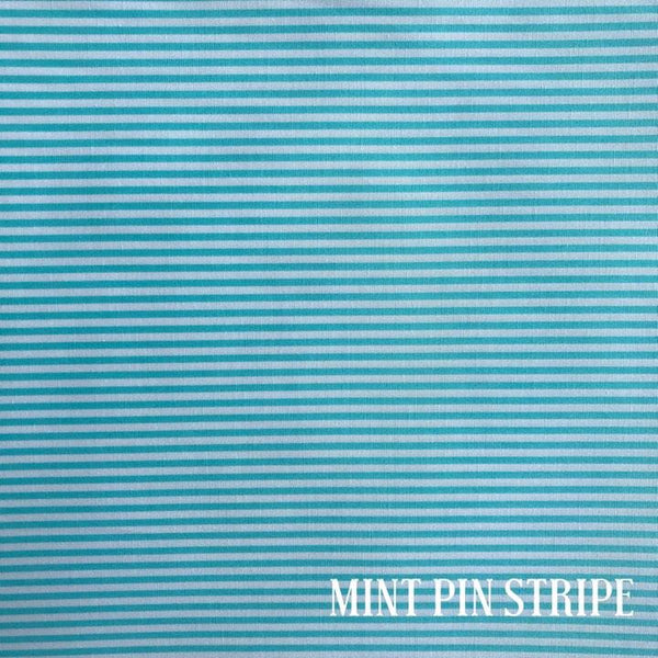 Mint Pin Stripe