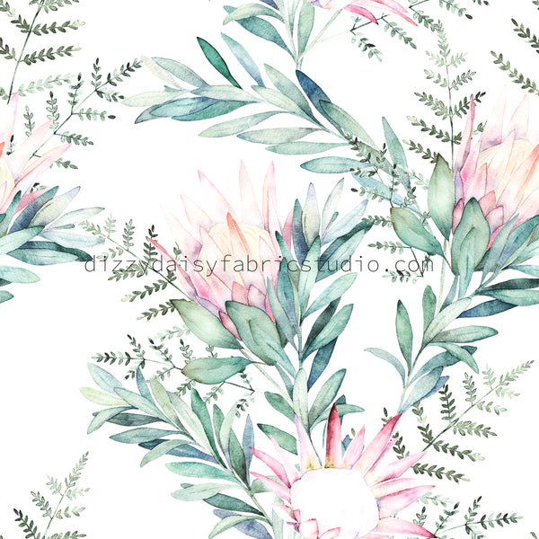 Watercolour Protea - Retail