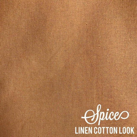 Spice - Linen Look Cotton
