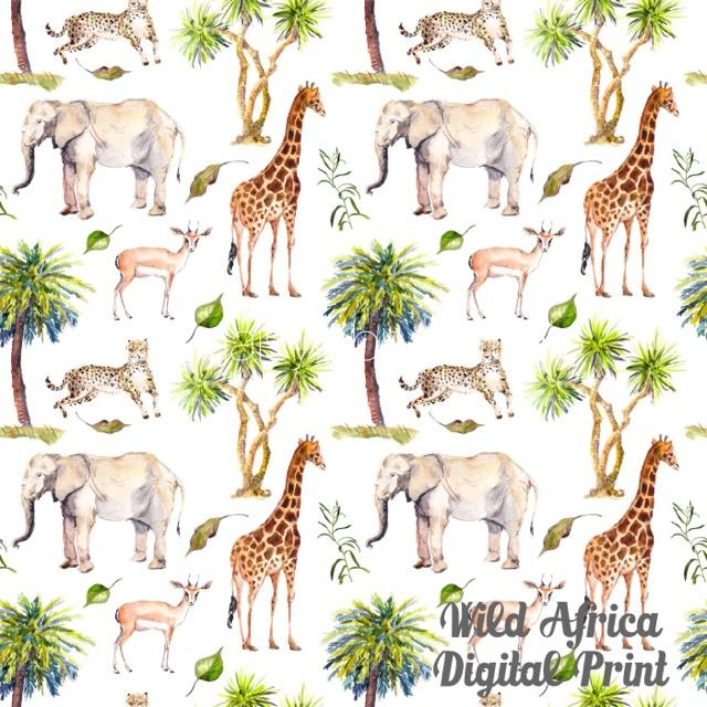 Wild Africa Digital Print - Retail
