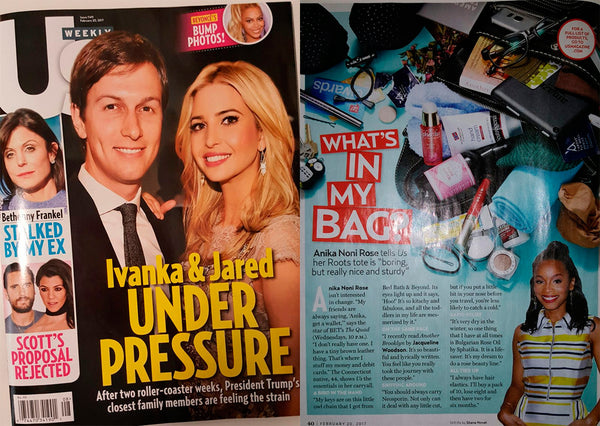 Featured in US Weekly February 20, 2017 issue