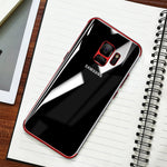 Shining Transparent Plating case for Samsung