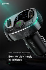 Car Bluetooth Player and USB Fast Charger